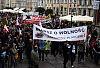 Rozwiązano marsz antycovidowców