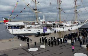 Uniwersytet Morski zaczął rok akademicki na Darze Młodzieży
