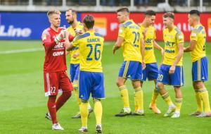 Arka Gdynia szuka pozytywów. Cieszy gra, ale nie wynik z ŁKS Łódź