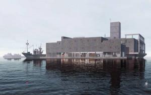 Klasztor w gdyńskiej torpedowni - wizja studenta z Wrocławia