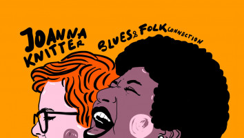 "2 płyty z autografem - Joanna Knitter Blues & Folk Connection  ""Aretha"""