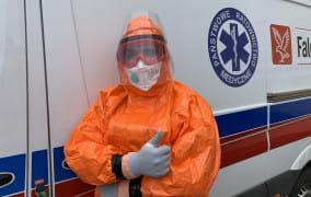 Ratownik medyczny: koronawirus przestał być piętnem