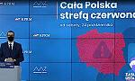 Cała Polska czerwona. Nauka online od IV klasy. Gastronomia zamknięta