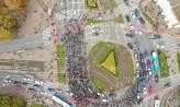 Sobotnie protesty na ulicach Trójmiasta