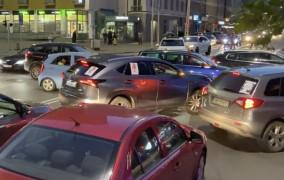 Protest kierowców sparaliżował ulice. Tłumy w Gdyni