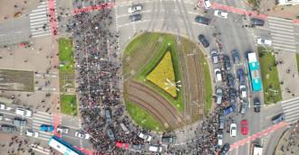 Sobotni protest na ulicach Gdańska