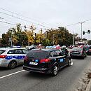 Protest taksówkarzy w Trójmieście