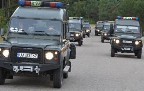 Żandarmeria na ulicach w związku z pandemią, a nie protestami