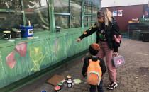 W Oliwie powstał mural wymyślony przez...