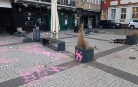 Protestujcie, ale nie demolujcie miasta