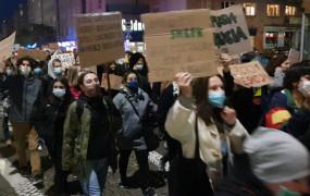 Ósmy dzień protestów w Trójmieście
