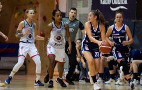 Koszykówka kobiet. Politechnika u siebie, GTK na wyjeździe, Arka pauzuje