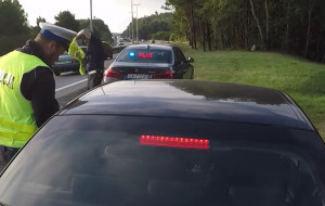 38 praw jazdy zatrzymanych w weekend