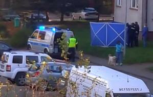 Gdańsk. Poszukiwany przez policję wypadł z okna mieszkania