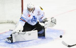 Hokeiści Stoczniowca Gdańsk trenowali solidnie. Michał Kieler bronił w reprezentacji