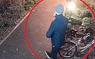 Kradzież roweru w półtorej minuty. Wszystko nagrała kamera