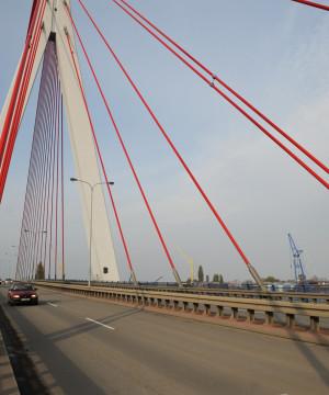 Rozpoczęły się prace na moście wantowym
