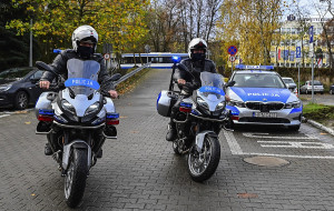 Sopocka policja z nowymi motocyklami