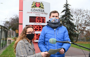Kręć kilometry dla Gdańska - podsumowanie akcji
