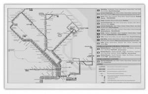 E-papierowe reklamy i rozkłady jazdy z Gdańska