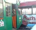 Zderzenie tramwaju i autobusu na Przymorzu