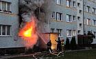 Przyznał się do podpalenia własnego mieszkania