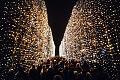 Część iluminacji przeniesiona z parku Oliwskiego do Reagana