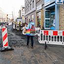 Gdynia: remont chodników przy ul. 10 Lutego na półmetku