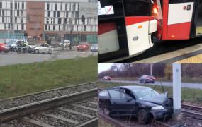 Wypadki i kolizje w Trójmieście w poniedziałek, 23.11.2020