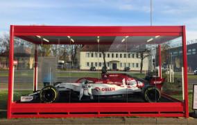 Bolid F1 w końcu przyjechał do Gdańska