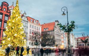 Iluminacje, choinki  i szlak kulinarny. Gdańsk odpala święta inaczej niż zwykle