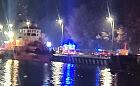 Śmiertelny wypadek przy Westerplatte. Członek załogi holownika wpadł do kanału