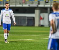 Bałtyk Gdynia - Świt Skolwin 0:0. Ostatni ligowy mecz biało-niebieskich w 2020 roku