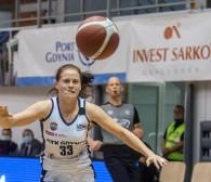 GTK Gdynia - Pszczółka Lublin 76:85. Marta Marcinkowska zdobyła 27 punktów