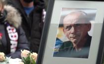Zenon Plech - pogrzeb na cmentarzu...