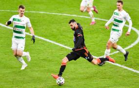 Lechia Gdańsk - Lech Poznań 0:1. Rzut karny i czerwona kartka przesądziły