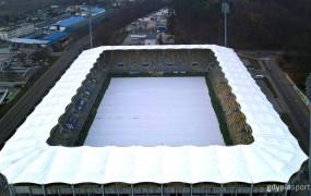 Będą zmiany w podgrzewaniu murawy na meczach Arki Gdynia. Co i kto zawiódł?