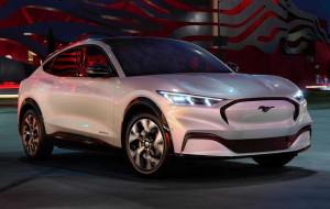Elektryczny Ford Mustang z wizytą w Trójmieście