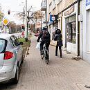 Spór o drogę rowerową na ul. Wielkopolskiej