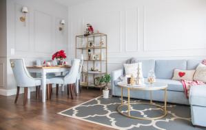 Jak Oni Mieszkają: świąteczne wnętrze w stylu Hamptons