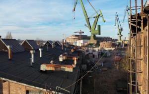 Śmiertelny wypadek w stoczni w Gdańsku. Mężczyznę przygniotła brama