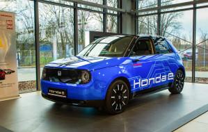 Elektryczna Honda e w gdańskim salonie