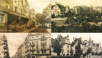 """4 albumy """"Gdańsk. Historia i stara pocztówka. Część 2 - ulice"""""""