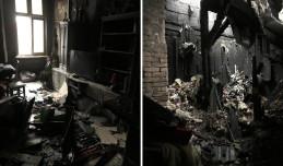 Mieszkania, które nie spłonęły, zalała woda. Pogorzelcy z Sopotu proszą o pomoc