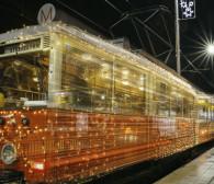 Świąteczny tramwaj wyrusza w trasę. Tym razem bez pasażerów