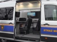 Nowe mobilne laboratorium gdańskich strażników miejskich