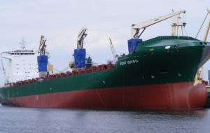 Atak piratów na statek M/S Port Gdynia