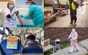 Koronawirus zdominował 2020. Jaki był rok życia z pandemią?