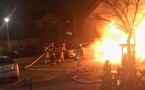Kilka pożarów przez fajerwerki i wypadek...
