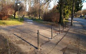 Kierowcy nie zaparkują już w parku na Siedlcach